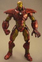 Iron Man A by TomCampbell