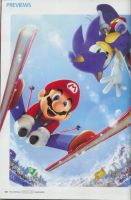 mario and sonic winter olympic by segago