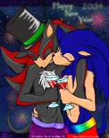Happy New Year - Sonadow by thyrachan