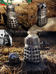Clay Dalek by ThePeculiarMissE
