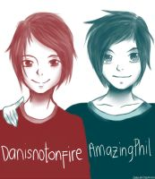 Dan and Phil by Calia30