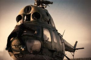 old helicopter 2 by davenevodka