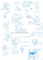 Sonic sketches by zavraan