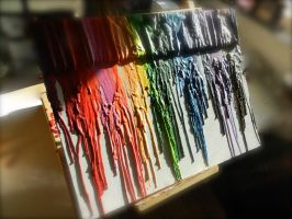 Melted Crayons by AtomicColor