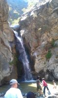 Eaton Canyon Falls by princesskhym