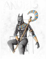 anubis by 13sticker
