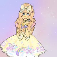 Milky Planet Lolita by ixheartxyaoi