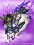Trees of Violet by feedapollyon