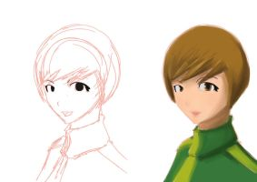 Chie Sketch by Geartap