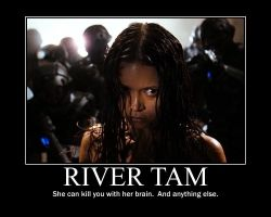 River Tam Motivational Poster by FantasticalWonder