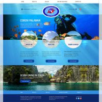 Web Design - Aquahabitat Coron by lans2gt