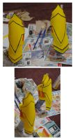 Yang Xiao Long Gun Gauntlets -finished- by akahime-chan