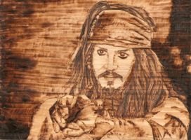Jack Sparrow by wickedtiger86