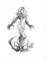 Witchblade again by DrummerboyDomo