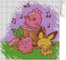 Igglybuff's Lullaby by Makibird-Stitching