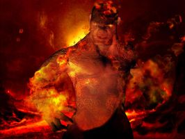 Magma Man by iEvEtS