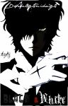 D Gray-Man Tyki: Black and White by dawnlightmidnight