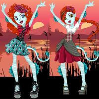 Monster Exchange Lorna McNessie Dress Up by heglys