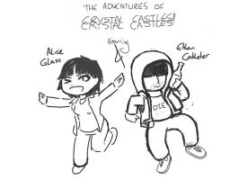 Crystal Castles by funwithheroin