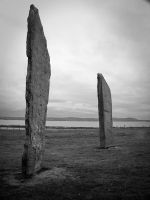 Standing Stones of Stenness by Lazy-Photon