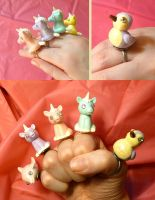 Sparkle Friend Rings by sadwonderland