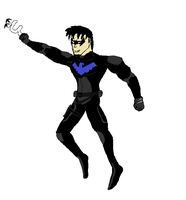Young Justice Nightwing by nhrynchuk