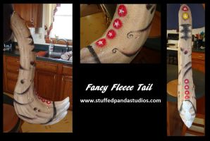 Fancy Fleece Tail by stuffedpanda-cosplay