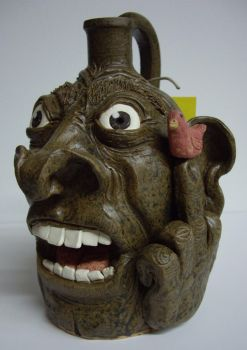''Angry Bird'' mini Facejug by Fourpawpotter