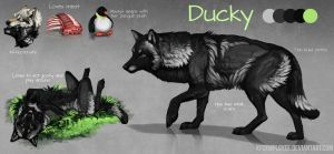 Ducky redesigned by KFCemployee