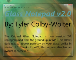 Glass Notepad 2.0 - Preview by theking9794