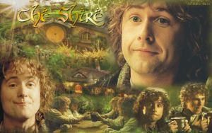 Peregrin Took and the Shire by LadyCyrenius
