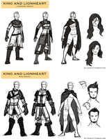 KL Concepts: Character Design by Zukitz