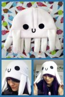 AT: White Octopus Hat by ChibiWorks