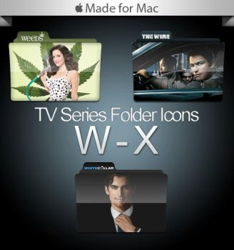-Mac- TV Series Folders W-X by paulodelvalle