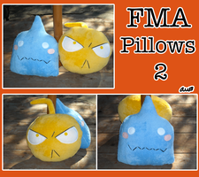 FMA Pillows v2 by Snuckledrops