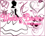 PS Wedding Brushes by Illyera