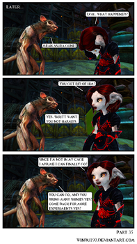 A Skritty Situation 35 (Guild Wars 2 comic) by windu190