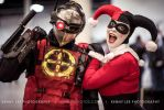Deadshot and Harley Quinn by ohRocco