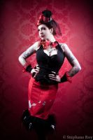 mad hatter pin up by BlackNorns