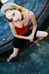 Janneke - red and black revisited 2 by wildplaces