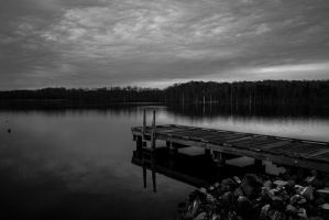 Silence upon the Lake by The-Satchmoe