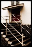 Stairs And The Door by dimensi