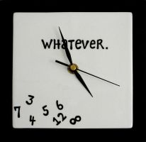 Whatever Clock full view by mb-neo
