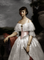 In historical dress by TheEclecticOne