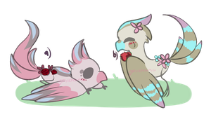 Eden Roses Adoptables [Mini Auction - CLOSED] by GeXeHeNNa