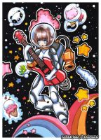 Guitarist from Space by PeterPan-Syndrome