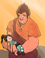 Wreck-It Ralph: Don't Go by CaseyLJones