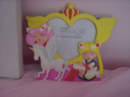 Sailor Moon SuperS Frame by Super-Moogles