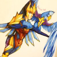 quinn copic by melonafiend