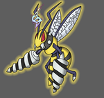 Mega Beedrill - Mega Showdown Contest by Neegasai